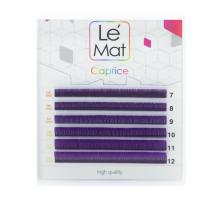 Ресницы фиолетовые Le Maitre «Caprice» 6 линий изгиб L